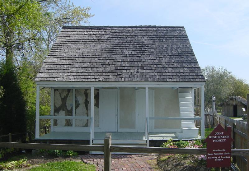 Vermilionville Coussan House_image1